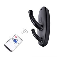 Wholesale Hd Motion Activated Spy Camera - HD 720*480 Spy Clothes Hook Camera Wireless Remote Control Hidden camera Clothes Hook Video Recorder Motion Activated Security DVR