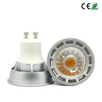 10pcs / Lot COB GU10 5W 7W Dimmable MR16 12V LED Scheinwerferbirne Warme / kühle weiße E27 LED Lampe 60 Strahlwinkel LED-Licht