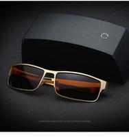 Wholesale Free Pc Drivers - Hot ! 2017 Top Brand Designer Luxury Car Driver Mens Sunglasses Polarized Glasses Anti-glare Anti-UV UV400 Sunglass 5 Colors Free Shipping