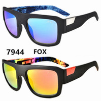 Wholesale Foxed Mirror - 2017 New Sports Men Sunglasses FOX DECORUM Outdoors Goggles Big Frame 12 Colors Cheap Wholesale Sunglasses Free Shipment