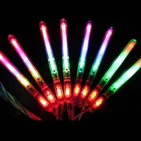 Wholesale Glow Sticks Rave Wholesale - LED Light Glow Stick Concert Flash Stick Multicolor Light-Up Blinking Rave Sticks Concerts Party Glow OOA1443