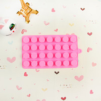 Wholesale Cute Ice Cube - Emoji Ice Cube Silicone Creative Expression DIY Cute Baking Chocolate Candy Jelly Ices Lattice Kitchen Tool 2 8yj F R