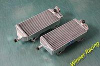 Wholesale Cool Engine - Aluminum Radiators For Gas Gas MX SM EC 200 250 300 2007-2014 replacement parts engine cooling parts