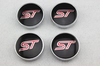 4 pz = 1 set / 60mm Refit Ford ST RS logo decal wheel centro hub caps adesivi adesivi Car styling Spedizione gratuita