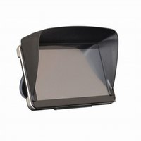 block gps - Inch GPS Navigation Hood Sun Shade Navigator Screen Block Mask Universal Car Clip Auto Parts