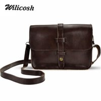 Wholesale Wholesale Selling Vintage Bags - Wholesale- 2016 Hot Selling Pu Leather Women Handbag Casual Women Purse Shoulder Cross body Bag Vintage Women Messenger Bags bolsas DB4858