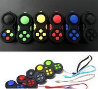 Wholesale 11 Toy Pad - New Fidget Pad Toys Fidget Handle Hand Spinner Torqbar Spinner Toys Fidget Hand Shank Gifts