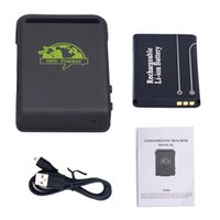 Wholesale Gps Person Pet Tracker - Mini Car Person Pet Waterproof Magnet GPS GSM GPRS Tracker Vehicle Real time TK102B GPS tracking Device