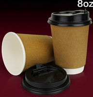 Wholesale Joy OZ ml double insulated coffee cups personalized paper coffee cups disposable ice cream paper cups