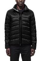 Wholesale Thin Black Chain - BLACK LABEL Men's Thin light Down jacket WINTER CANADA BRO-JAC-2 Down & Parkas Brand Real Raccoon Fur Collar White Duck Outerwear & Coats