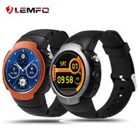 LEMFO LEM3 3G wifi Smart watch phone Android 5.1 OS MTK6580 Quad Core smartwatch phone Supporto google map Monitoraggio della frequenza cardiaca