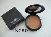 base de maquillaje de color al por mayor-Maquillaje profesional de alta calidad STUDIO FIX POWDER PLUS FOUNDATION FOND DE TEINT POUDRS 15 g de polvo en polvo presionado envío de la gota