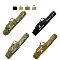 Wholesale Tactical Long Rifle Bag - Outdoor Sports Tactical Assault Combat Camouflage Fishing Bag Photography Pack Tactical Rifle Airsoft 120cm Long Bag NO11-800