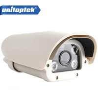 Wholesale Ip Camera Capture - License Plate Capture Recognition 2.0MP IP LPR Camera For Highway Toll-Gate 1080P,IR-Cut,4PCS Array Led,8mm Fixed Lens