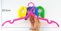 Wholesale Folding Magic hanging clothes drying folding travel hanger racks essential travel portable folding hanger magic plastic