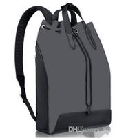 Wholesale Luxury School Bags - Top quality 2016 luxury designer travel bag women MENS N41612 JOSH EXPLORER backpack School book bag leather trim SIRIUS PULSE M40527 M40567