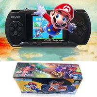 Wholesale Nes Lcd - New Arrival Game Player PVP 3000 (8 Bit) 2.5 Inch LCD Screen Handheld Video Game Player Consoles Mini Portable Game Box Also Sale PXP3