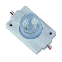 Wholesale Power Led Lens - High Power 2W Led Module Side Lighting Led Lamps 1 Led Module Injection Lens Super Brightness For Logo Letter DHL free