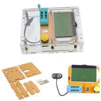 Wholesale Lcr Esr - Mega328 M328 Transistor Tester LCR-T4 Multimetr Diode Triode Capacitance ESR Meter MOS PNP NPN L C R+ Transistor Tester Case