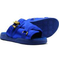 zapatos de lona de verano para hombres al por mayor-2017 venta caliente de la franja de lona de las mujeres de los hombres Zapatillas de hombres Calzado de verano Diapositivas zapatillas de playa Antideslizante chancletas de las sandalias