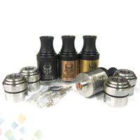 Wholesale Brass Bear - Baal RDA Atomizer 510 Tank with Wide Bore Drip Tip Baal Dripping Rebuildable Atomizer 4 colors Black SS Copper Brass fit Mechanical Mod