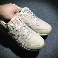 """Wholesale Anti Skid Pvc - 2017 Genuine leather KENDRICK LAMAR Ventilator """"Neutral"""" KL Men and Girl white Breathable Outdoor Anti-skid Casual shoes Sports shoes"""