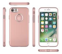 paquet de vente au détail pour iphone achat en gros de-Coque TPU Slim Armour Hybrid pour iphone 6 6s 7 Plus 8 X couverture arrière Shuffproof Skin Shell avec paquet de vente au détail
