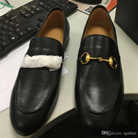 Wholesale Women Oxford Shoes Fashion Brand - 2017 Women Genuine Leather Brand Flats Fashion Chain Oxford Loafers European Designer Slip On Spring Luxury Shoes Free Shipping X626