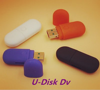 Wholesale flash drive dvr - USB disk camera DVR Pinhole Camera HD Mini DVR USB flash Drive Camera 1280*960 U disk mini audio Video Recorder Cute Design