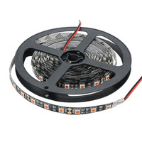 Wholesale Led Strip Pink 5m - LED Strip 5050 Black PCB PINK DC12V Flexible LED Light Non-waterproof 60 LED m 5m lot 5050 LED Strip