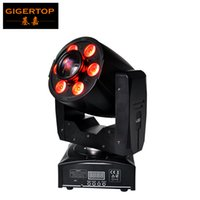 Wholesale Spot Moving Head Light Wash - TIPTOP New Design 1*30W Led Spot+6*8W Wash Led Moving Head Light Mini Size 95W Gobo Washer 2in1 DMX512 Control 4 8CH Manual Zoom