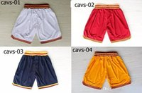 Basketball Shorts Herren Shorts Breathable Sweat Hosen Teams Classic Sportswear Tragen Sie gestickte Logos Cheap Sports