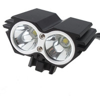 Wholesale Cree Light Rechargable - CREE XM-L 1500Lm Waterproof 3 Modes LED Bicycle Light U2 Led Headlight Lamp Flashlight With Rechargable Battery