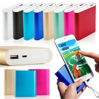 Wholesale Emergency Charger Iphone 5s - Xiaomi Mi 10400mAh Power Bank Portable Emergency Battery External Charger For iphone 5S SE 6 7 8 X Samsung S8 Note 8 Tablet