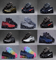 Wholesale Woven Casual Shoes - Casual Shoes 2018 Vapormax x CDG COMME Mesh Knitting Weaving For Men Shock Free Shipping With Box Fly size 40-45