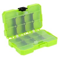 Wholesale JAKEMY Jp pj2002 Double Sided Fishing Tackle Box Portable Fishing Accessories