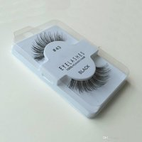 Wholesale Eye Lashes 217 - hot sale 10 styles WSP 523 48 43 217 218 747 S L M False Eyelashes Fake Eye Lashes shipping free in stock