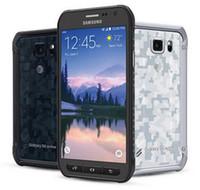 samsung galaxy s6 ativo venda por atacado-Recondicionado Original Samsung Galaxy S6 Ativo G890A Desbloqueado Celular Qcta Núcleo 3 GB / 32 GB 5.1 Polegada 16MP Suporte À Prova D 'Água