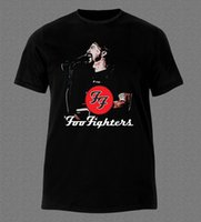 Wholesale Grunge T Shirt - FOO FIGHTERS BAND DAVE GROHL GRUNGE HARD ROCK MUSIC T-shirt tom brady jersey