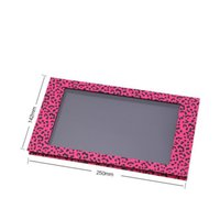 Wholesale Empty Magnetic Palette Pans - Wholesale-Free Shipping! 5 pcs lot No Printing Pink Leopard Eyeshadow Palette, Larger Empty Magnetic Makeup Storage -Fill 18*36mm pans