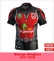 Wholesale George T Shirt - St George Dragons 2017 Marvel Ant Man Jersey football jersey shirt Rugby Jerseys t-shirt S-3XL