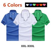 Wholesale Polo Shirts Wholesale For Men - T-shirt Men 2017 New Mens Polo Shirt T-Shirt For Men Casual Solid Short Sleeve Shirt Jerseys Tee Tshirt Male Tops Boys