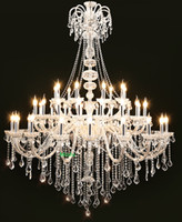 Discount large crystals chandeliers maria theresa crystal chandeliers foryer white large chand elier modern living room chandelier kitchen round crystal chandelier stairs light