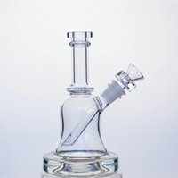 Glass special types of glass - CCG Bell Rig with SEED OF LIFE perc thick base mm female joint with special glass smoking bowl