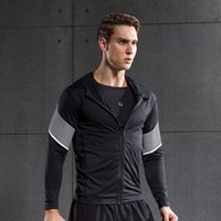 Männer Laufen Run Jacket Pullover Fitness Übung Outdoor Fitting Sport Fußball Fußballtraining Gym Jogging Jogger Jacken