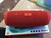 Wholesale Iphone Charge Speakers - 2016 Newest Wireless Speaker CHR3 Bluetooth Speaker OEM Logo Support TF Card Waterproof USB Charge Out Loudspeaker For iPhone Chrismas gift