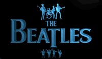LS1357-b-The-Beatles-Band-Música-Bateria-néon-luz-Sinais