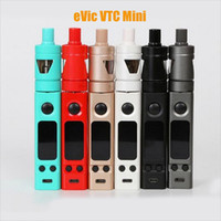 Venta al por mayor - eVic VTC Mini con Tron-s Atomizer Kit Firmware Actualizable Evic VTC Mini 75W Box Mod con 4,0ml TRON VS Evic VT 75w