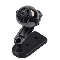 Wholesale Smallest Motion Detection Camera - Wholesale-SQ9 Infrared Night Vision Mini Camera Micro Video Cam Recorder 720P 1080P Motion Detection Camcorder Small Camera 360 Degree