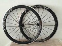 Wholesale Wheel Carbon 26 - Roval Road Clincher Wheelset new Carbon Bicycle Wheels+ Aluminum Alloy Brake Surface + hubs+ spokes+ nipples+ skewers